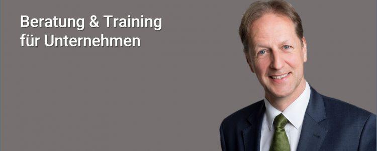 Beratung & Training für Unternehmen