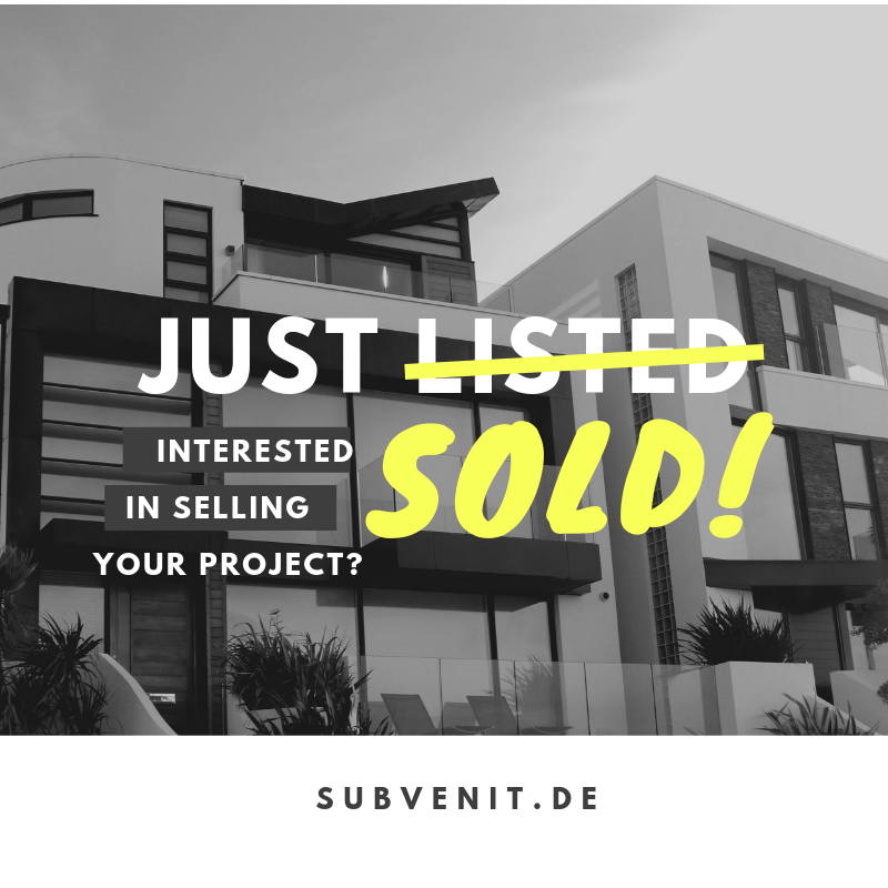 Sell your Project!