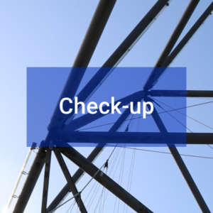 Button Projektverstärkung Check-up
