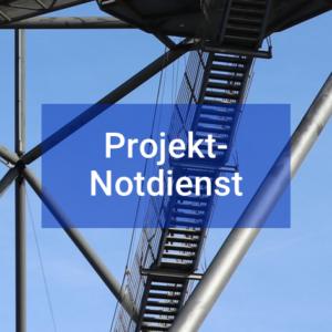 Button Projektverstärkung Projekt-Notdienst