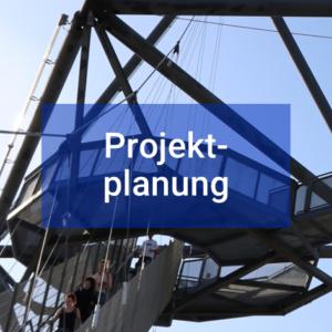 Button Projektverstärkung Projekt-Planung