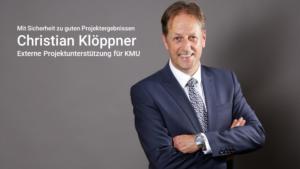 Christian Klöppner - Externe Projektunterstützung für KMU