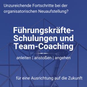Führungskräfteschulung Teamcoaching