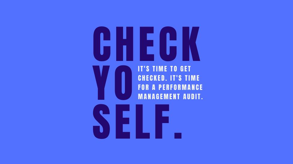 Performance Management Audits