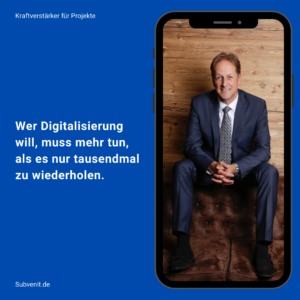 Impulse 18 Wer Digitalisierung will, muss mehr tun