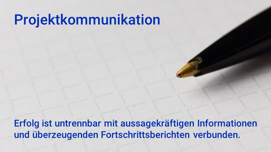 Leistungsangebot Projektkommunikation