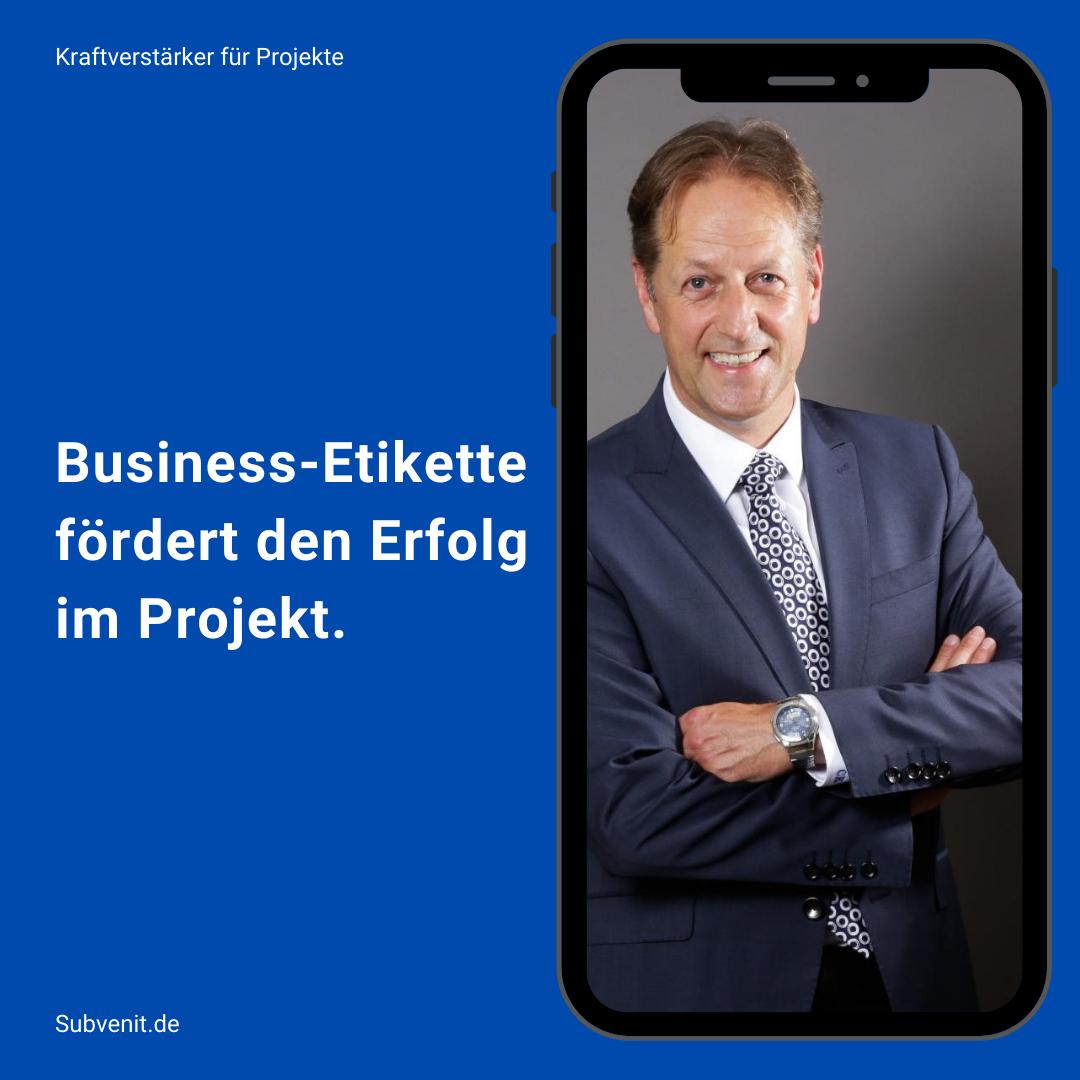 Wege 44 Business-Etikette fördert den Erfolg im Projekt