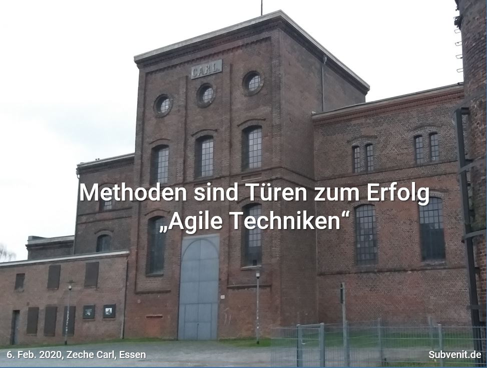 Methode 6 Zeche Carl Essen